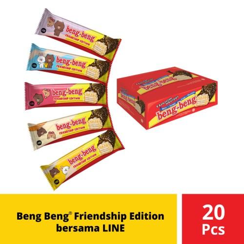 Foto Produk Beng Beng Friendship Edition Bersama LINE dari Mayora Official Store