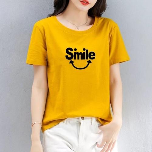 Foto Produk Kaos Widih (Smile Me, LD 90, P 57) - Hitam dari Haniya-fashion