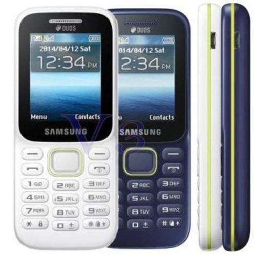 Foto Produk HP Samsung B310 Dua Sim gsm Bahasa Indonesia - Biru dari jdsell.id
