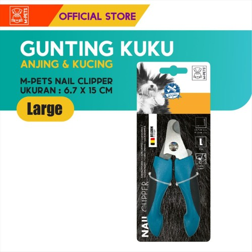 Foto Produk M-PETS NAIL CLIPPER SIZE LARGE / GUNTING KUKU ANJING KUCING HEWAN dari Olego Official Store