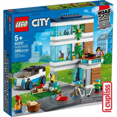Foto Produk LEGO City 60291 Family House dari Cupliss