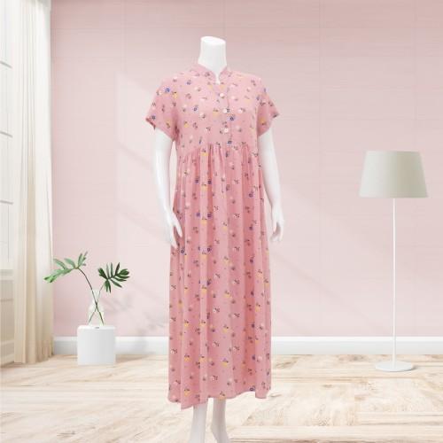 Foto Produk Lunaci Pinkish Bloom Maxi Dress - L dari Lunaci