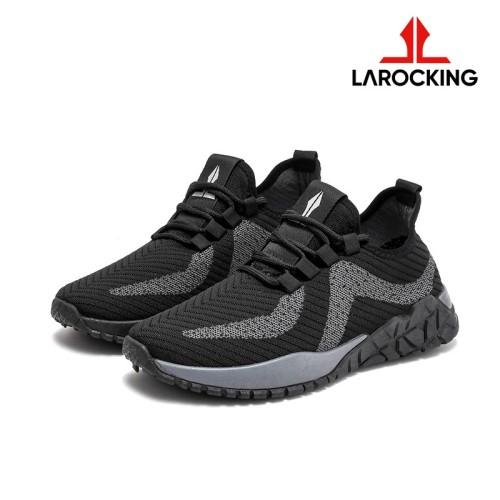 Foto Produk Larocking - Argon Vol 1 Hitam | Sepatu Sneakers Running Gym Shoes - Hitam, 39 dari Larocking