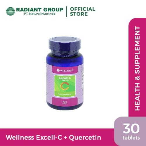 Foto Produk Wellness Excell-C+Quercetin 30 Tablets dari Natural Nutrindo