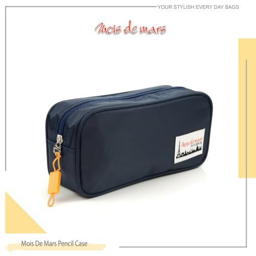 Foto Produk Pencil Case Mois De Mars - Biru dari MoisDeMars_Bags