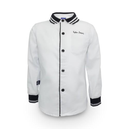 Foto Produk Shirt / Kemeja Anak Laki-laki White / Putih Rodeo Junior Boy GIft - 6 dari Rodeo Junior