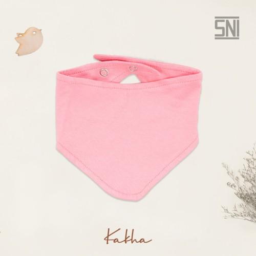 Foto Produk Kakha Series Slabber bayi basic / celemek bayi - Pink dari kakhaofficial