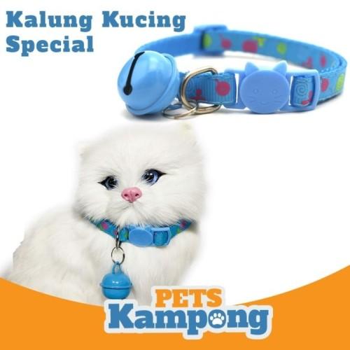 Foto Produk Kalung kucing Special dengan bel kerincing - Hitam dari Pets Kampong