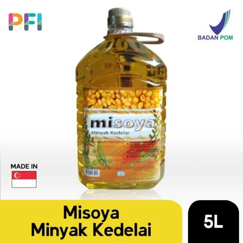 Foto Produk MISOYA SOYABEAN OIL 5LTR dari Premium Food Importer