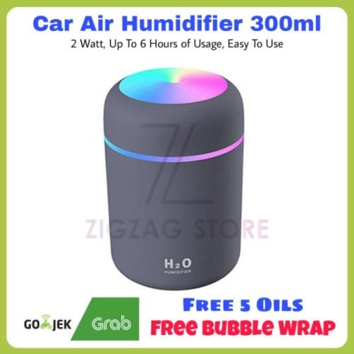 Foto Produk Air Humidifier Difuser Mobil Cup 300ml dari ZigZag-Store