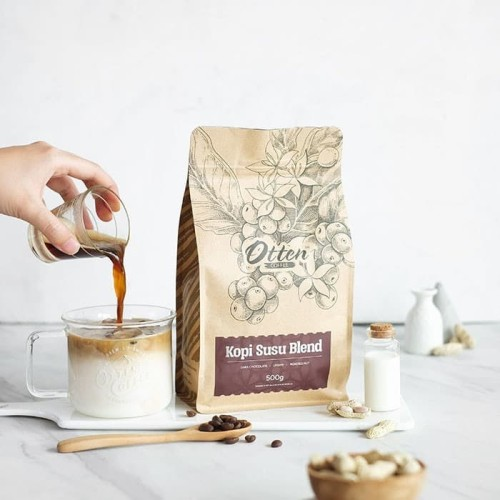 Foto Produk Kopi Susu Blend dari Otten Coffee Jakarta
