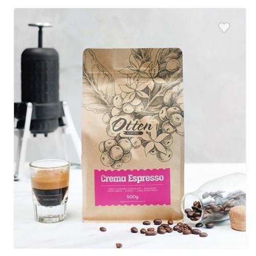 Foto Produk Otten Coffee Crema Espresso 500 gram Kopi   Espresso Blend Best Seller dari Otten Coffee Jakarta