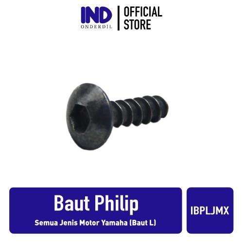 Foto Produk Baut Body Cacing Philip-Phillip Motor Semua Jenis Motor Yamaha Baut L dari IND Onderdil
