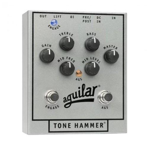 Foto Produk Aguilar Tone Hammer 25th Anniversary Silver edition dari Melodia Musik Online