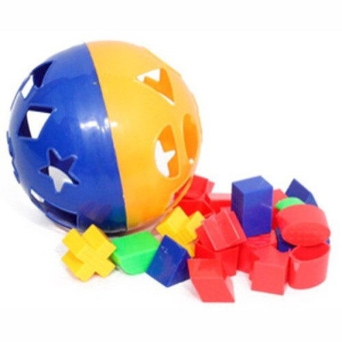 Foto Produk Mainan Bayi | Mainan Edukasi | Mainan Bongkar Pasang Puzzle Bola dari warunghani