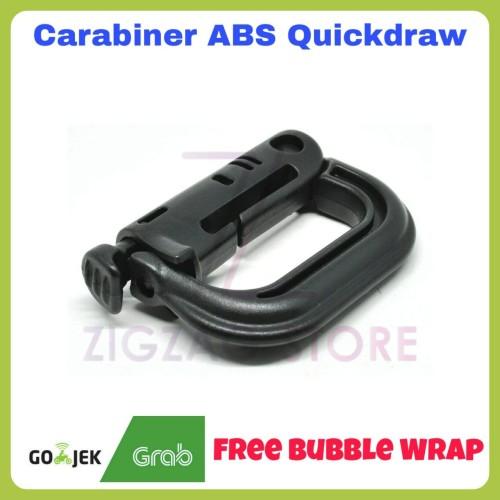 Foto Produk Carabiner Quickdraw ABS Buckle Karabiner dari ZigZag-Store