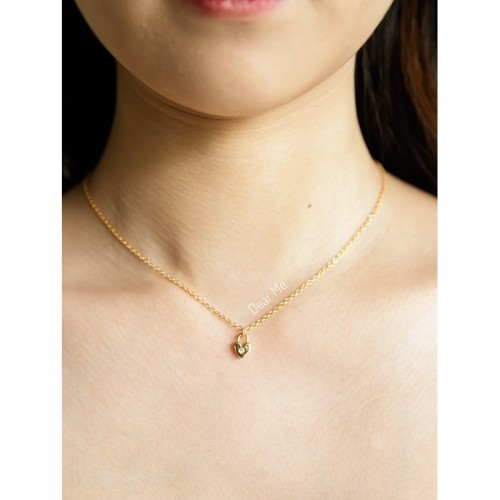Foto Produk Dear Me - Valentina Necklace (925 Sterling Silver with Gold Plating) dari Dear Me Jewelry