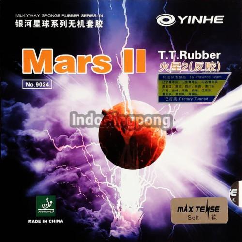 Foto Produk Yinhe Mars II ~ Rubber Karet - Hitam dari IndoPingpong