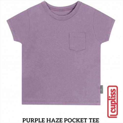 Foto Produk Little Palmerhaus Pocket Tee Kaos Oblong Anak Purple Haze - 1 Years dari Cupliss