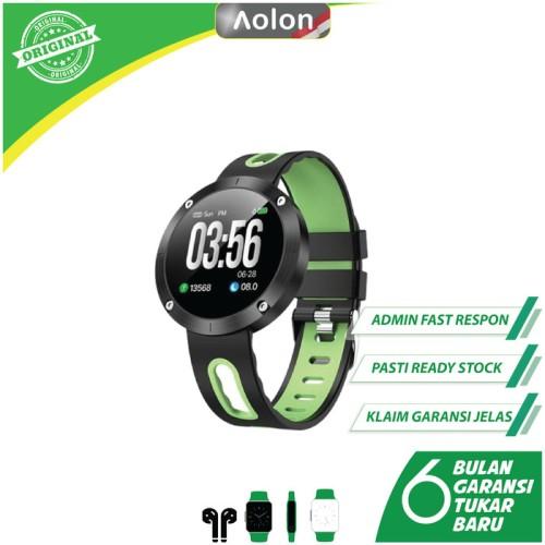 Foto Produk AOLON Smartwatch DM 58 - AMOLED Colorful HD, IP68, G-sensor - Hijau dari Aolon Indonesia