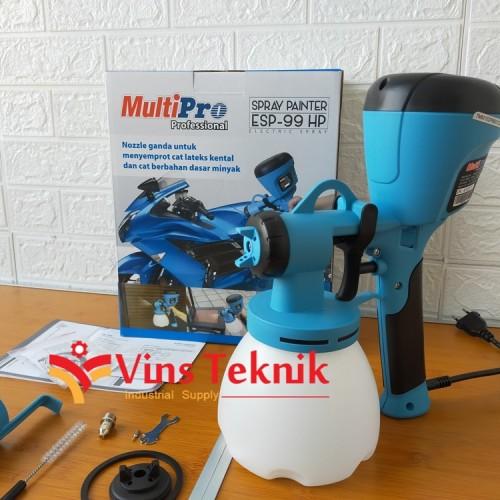 Foto Produk mesin cat Spray Gun Elektrik Portable ESP99HP MULTIPRO ESP 99 HP dari VINS TEKNIK