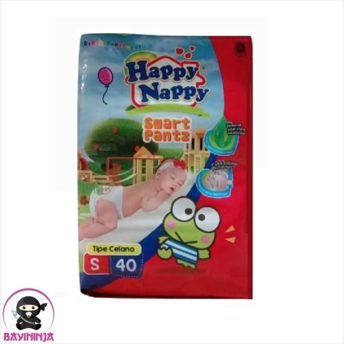 Foto Produk HAPPY NAPPY Smart Pants Popok Celana S40 / S 40 dari BAYININJA