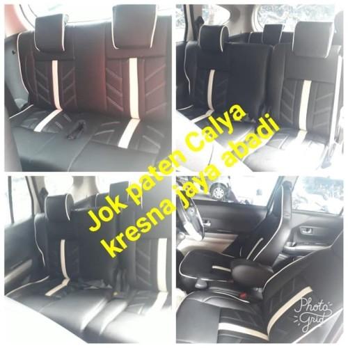 Foto Produk NEW RELEASE, BIG PROMO SARUNG JOK TOYOTA CALYA dari KRESNA CAR ACCESORIES