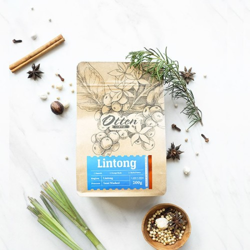 Foto Produk Lintong Onan Ganjang 200g Kopi Arabica dari Otten Coffee Jakarta