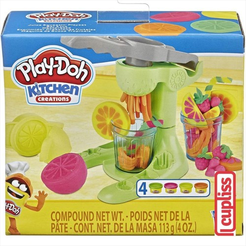 Foto Produk Play Doh Kitchen Creations Juice Squeezin Juicer Hasbro E7437 dari Cupliss