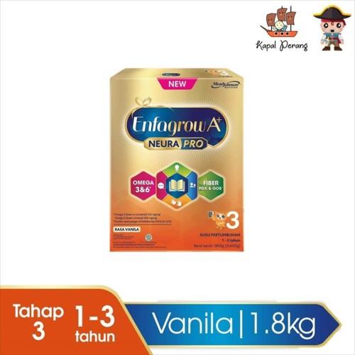 Foto Produk Enfagrow A+3 1800 gram vanila box NEW! dari Kapal Perang