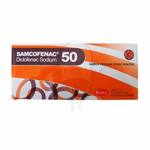 Foto Produk SAMCOFENAC 50 MG BOX 100 TABLET dari Apotek Sumber Abadi 2