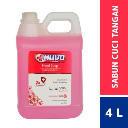 Foto Produk Nuvo Hand Soap Fresh Blossom 4 Liter dari Mesinlaundry