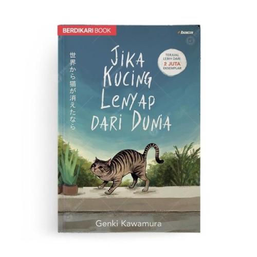 Foto Produk Jika Kucing Lenyap dari Dunia Edisi Baru - Baca - Biru dari Berdikari Book
