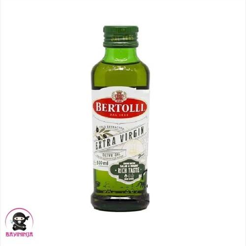 Foto Produk BERTOLLI Extra Virgin Olive Oil Minyak Zaitun 500 ml dari BAYININJA