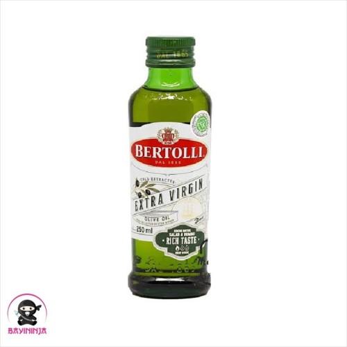 Foto Produk BERTOLLI Extra Virgin Olive Oil Minyak Zaitun 250 ml dari BAYININJA