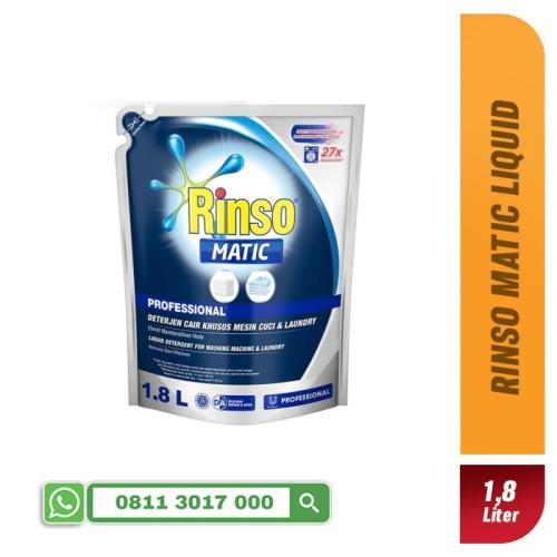 Foto Produk Rinso Detergent Liquid Professional Matic 1.8 Liter dari Pasar Happy
