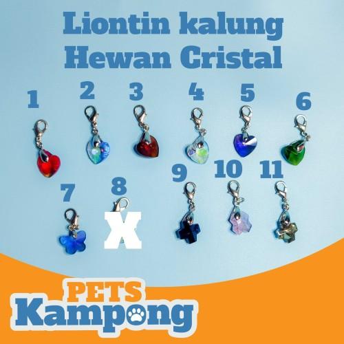 Foto Produk Liontin kalung hewan Cristal dari Pets Kampong