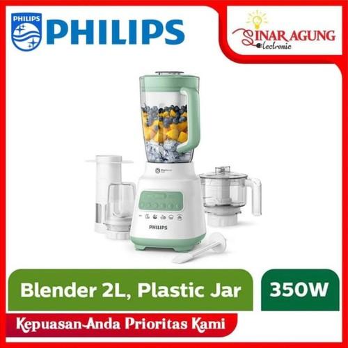 Foto Produk PHILIPS BLENDER 2 L HR2223 - HR 2223 GARANSI RESMI 100% ORI dari sinar agung electronic