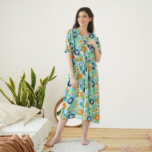 Foto Produk HOMEWEAR ORIANA DASTER BUSUI KEKINIAN FELICITY MINT - M dari Oriana Homewear