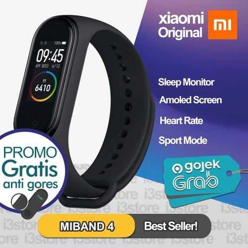 Foto Produk Xiaomi Mi Band 4 / Miband 4 OLED ORI Smartwatch ORIGINAL Miband4 dari i3store