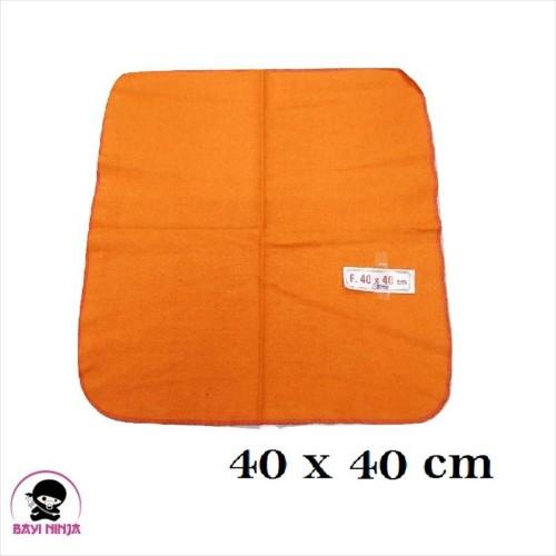 Foto Produk SERBET Kain Lap Orange 40x40cm - BN018 dari BAYININJA