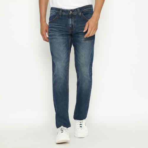 Foto Produk Papperdine 309 D.Indigo Straight Fit Celana Panjang Jeans Pria Denim - 30 dari Papperdine Jeans