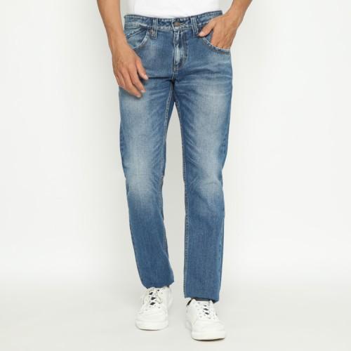 Foto Produk Papperdine 309 M.Indigo Straight Fit Celana Panjang Jeans Pria Denim - 28 dari Papperdine Jeans