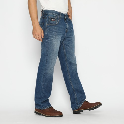 Foto Produk Papperdine 707 SS21 Enzyme Boot Cut Celana Panjang Jeans Pria - 32 dari Papperdine Jeans
