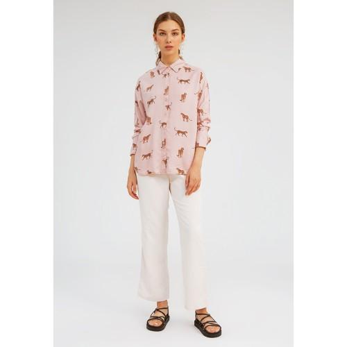 Foto Produk Tigris Shirt DUSTY PINK - XL dari minimal