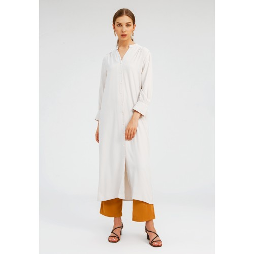 Foto Produk Minimal Headscraf Long Dress PEACH - S dari minimal