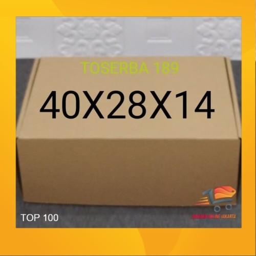 Foto Produk Kardus box die cut uk 40x28x14 dari Juragan Online Jakarta