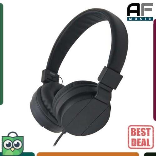Foto Produk Headset Headphone Super Bass GORSUN HiFi GS-778 - Warna Hitam Black - Hitam dari AF Music Studio