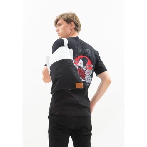 Foto Produk Tote Bag Canvas houseofcuff tas jinjing pria wanita black pocket dari House of Cuff