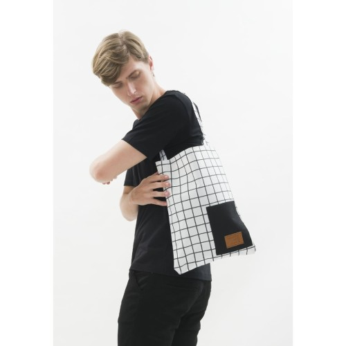 Foto Produk Tote Bag Canvas houseofcuff tas jinjing pria wanita square white dari House of Cuff
